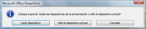 Exportar Diapositiva