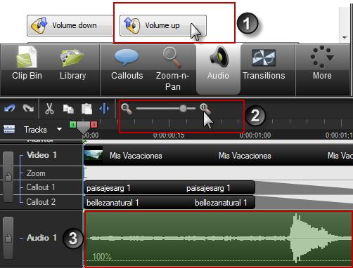 Pasos iniciales para ajustar el audio para reducir ruido